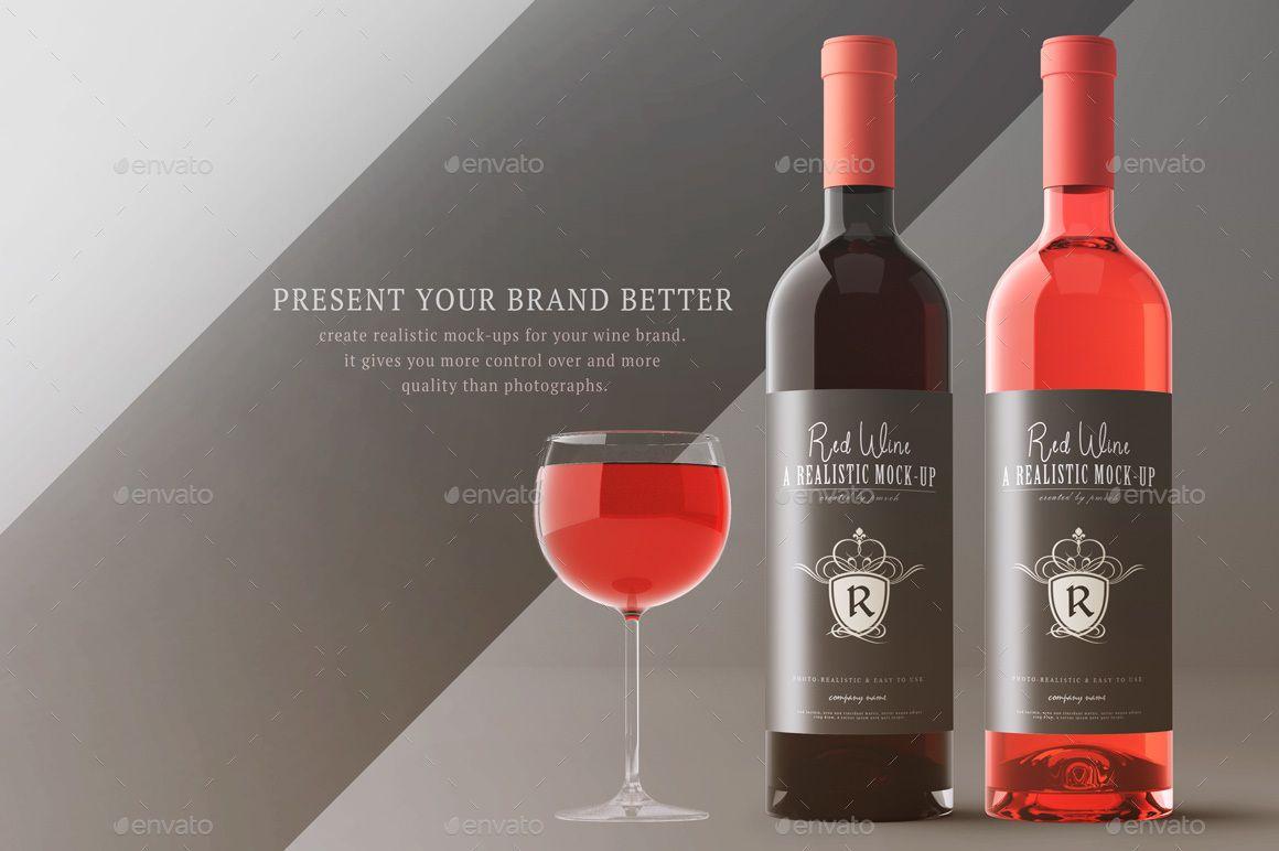 Wine Mockup Kit With Images Liquor Store Liquor Wine