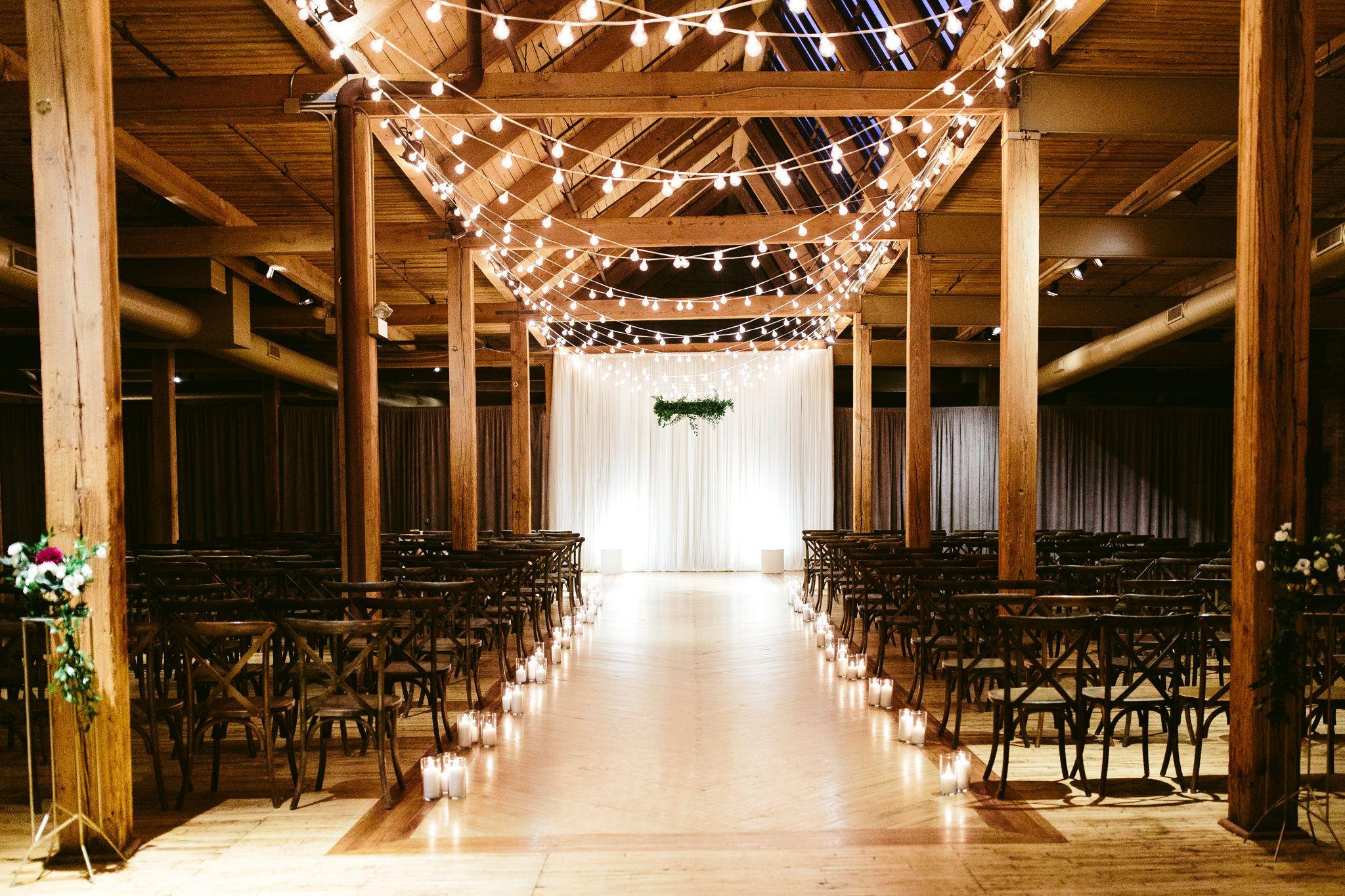 Megan Jon Chicago Wedding At Bridgeport Art Center Skyline Loft Photo Video Nicodem Creative Bridgeport Art Center Chicago Wedding Loft Wedding Ceremony