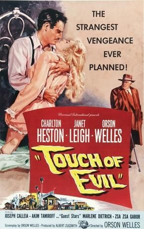 Touch Of Evil 1958 In 2021 Best Film Noir Classic Film Noir Orson Welles