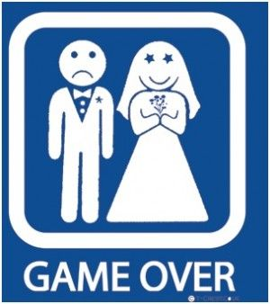 Image result for marriage is the end meme
