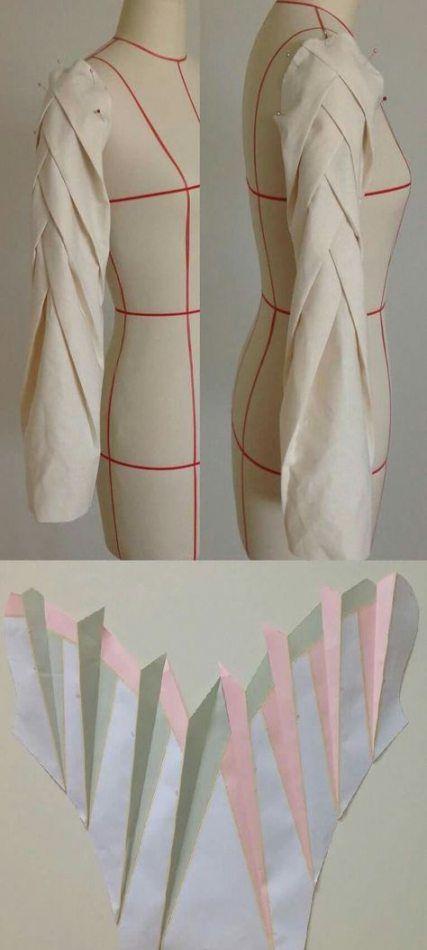 Photo of 56 trendige Origami Kleid Mode Muster Stoff Manipulation