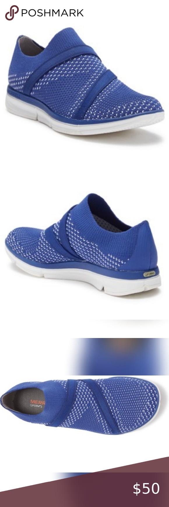 Nwot Merrell Zoe Sojourn Knit Sneaker In 2020 Sneakers Knit Sneakers Womens Shoes Sneakers