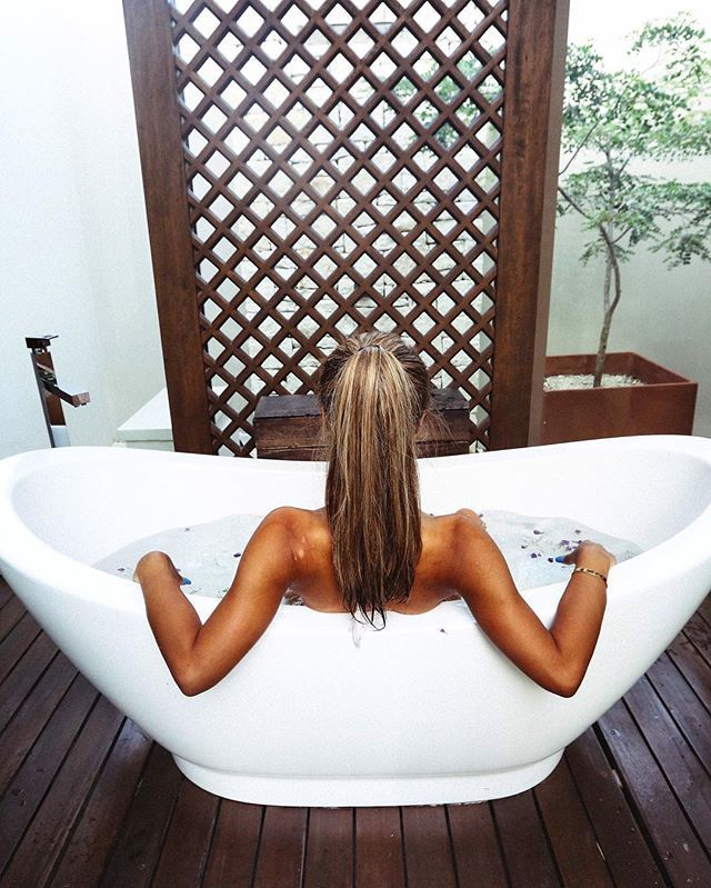 WEBSTA @ mylifeaseva - I can't hear the word bath in my head without hearing it in a British accent.