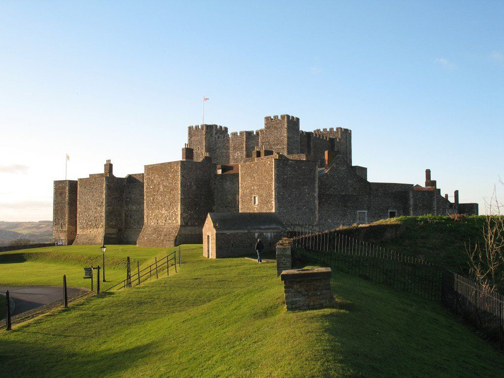 """The """"Roman Lighthouse"""" in Dover Castle is the oldest ..."""