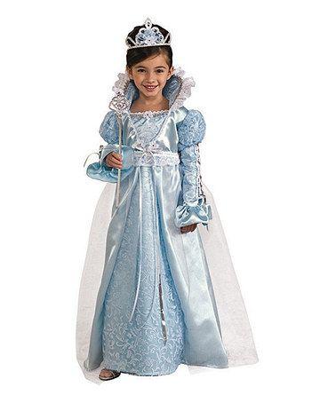 Blue Princess Dress Up Set Toddler Kids Halloween Fancy Dress Fancy Dress Up Cinderella Fancy Dress