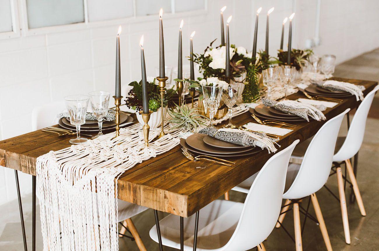 Lush bohemian styled shoot turns into a surprise wedding for Schreibtisch dekorieren hochzeit