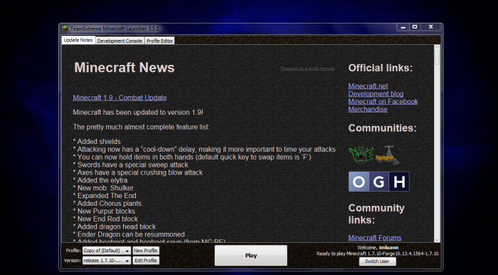 minecraft launcher download cracked 1.7.2