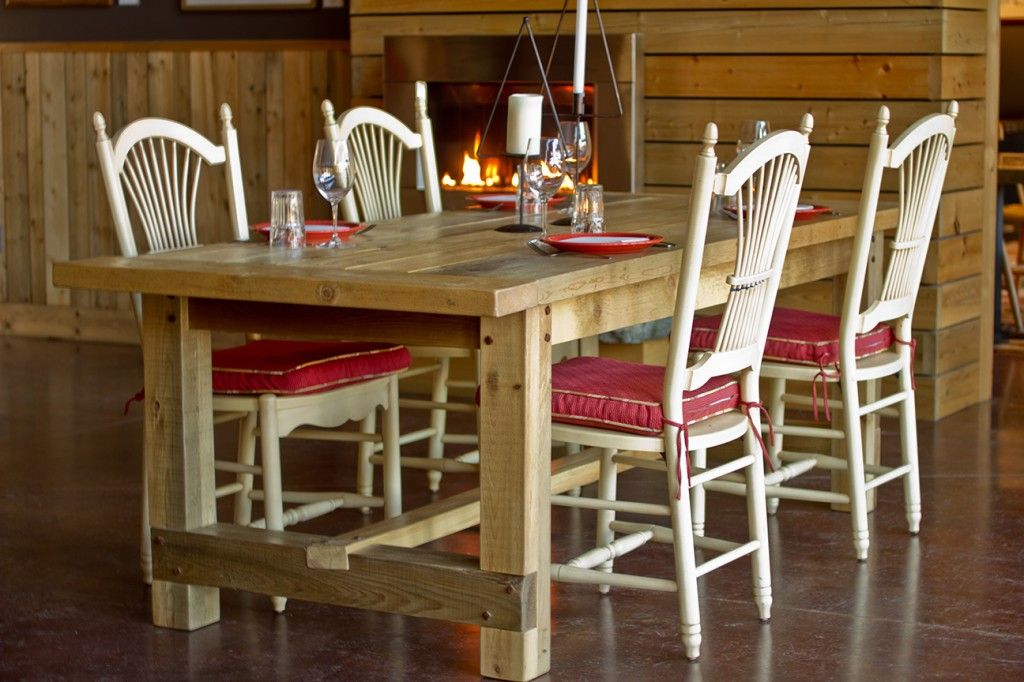1830 Maine Heritage Table Cabin Furniture Timber Reclaimed Wood Projects