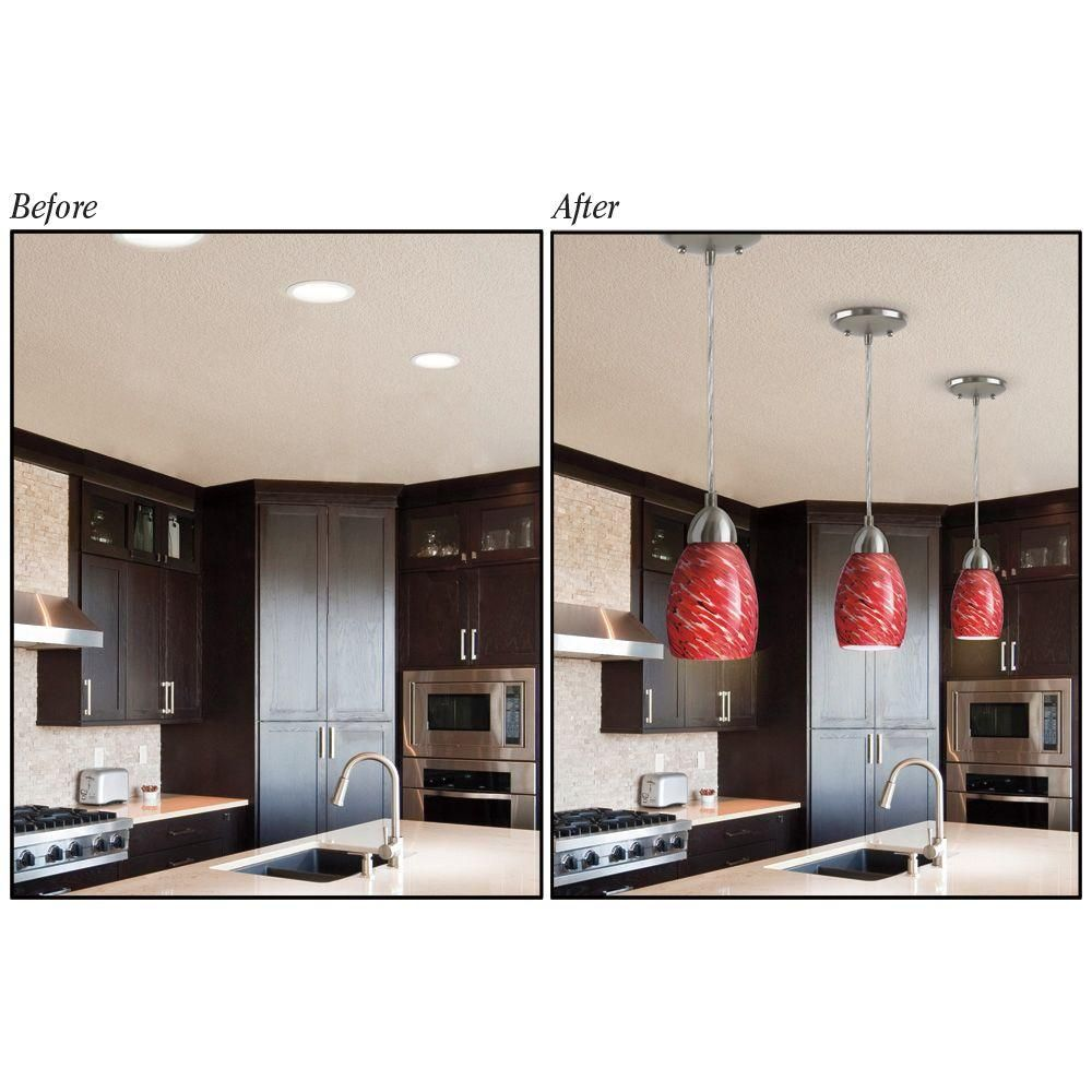 Westinghouse Recessed Light Converter For Pendant Or Fixtures