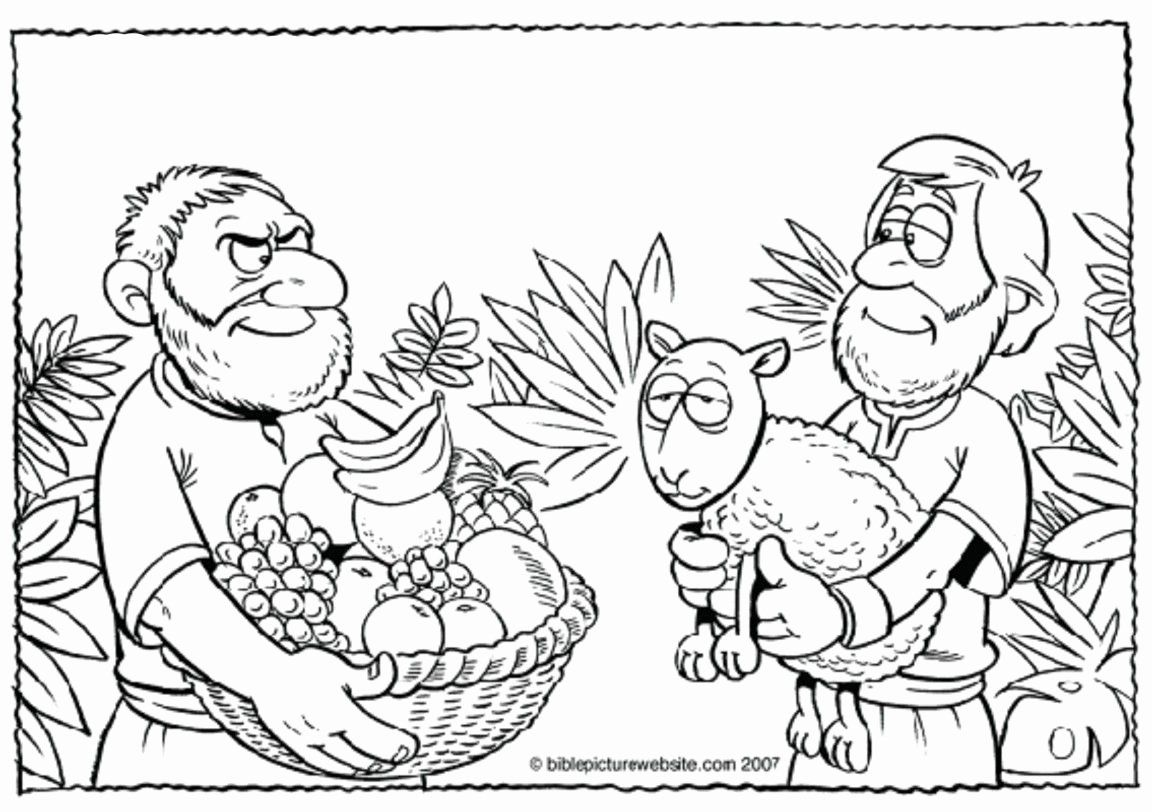 28 Cain And Abel Coloring Page In