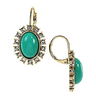 Anne Klein Turquoise Earrings