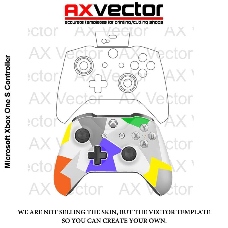 xbox one s console template tutorial pinterest xbox xbox one