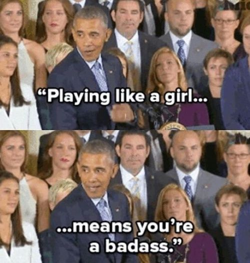 U go obama shared by QueenofErrors on We Heart It