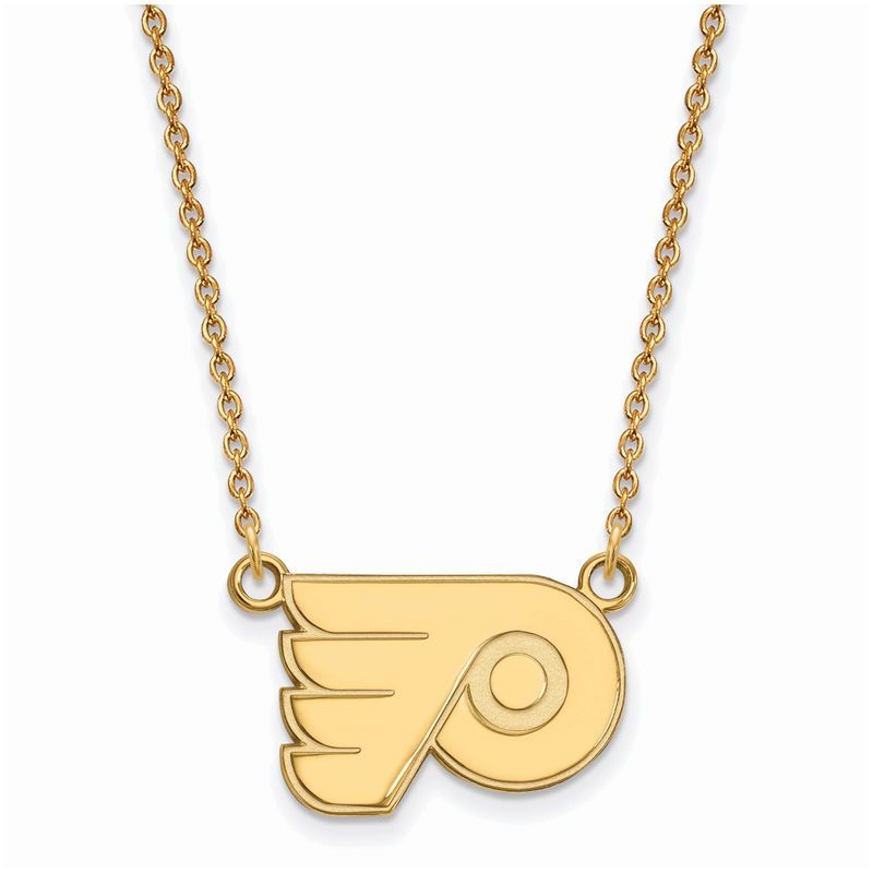 Roy Rose Jewelry Sterling Silver with 14K Yellow Gold-plated LogoArt Pi Beta Phi Small Circle Pendant