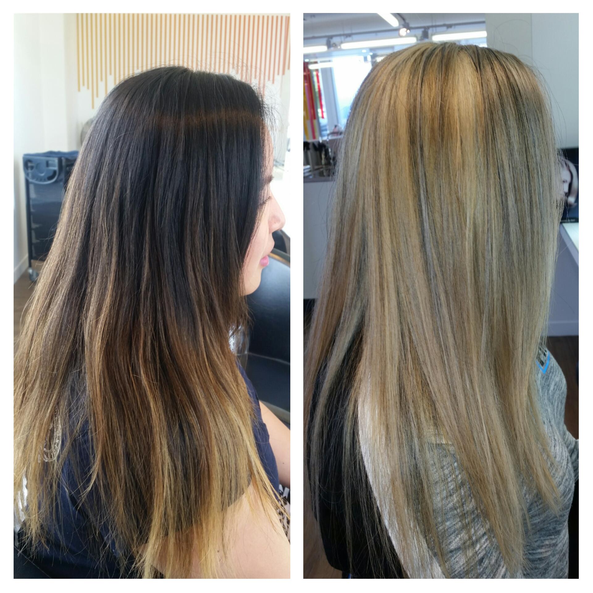 Another gorgeous transformation using #Olaplex. Colourist: Roxanne http://hue.co.nz/http:/hue.co.nz/services/blog/