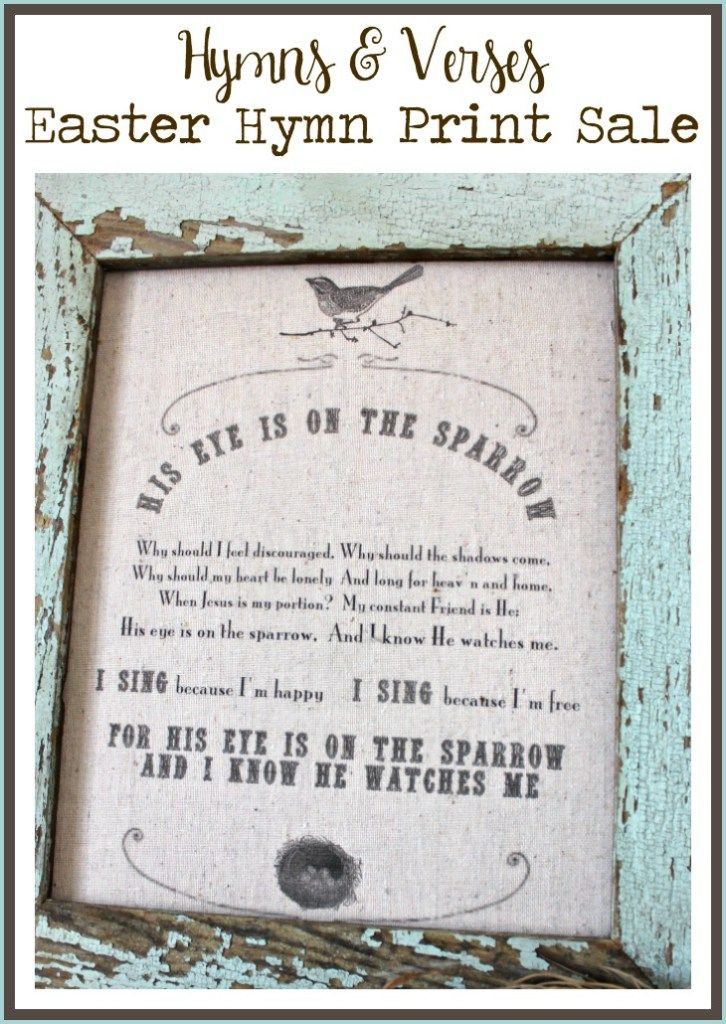 Hymn Print Easter Sale - Hymns and Verses