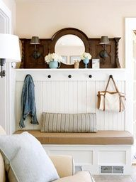 Mudroom Bench Could Also Just Be A Freestanding Piece Of Furniture