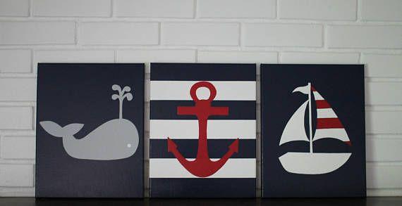 Nautische maritimes Kinderzimmer nautische Kindergarten
