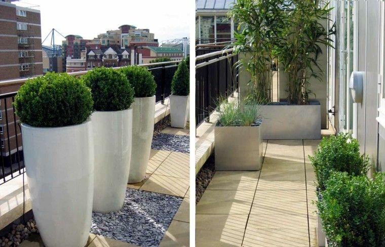 Ideas para terrazas patios o balcones acogedores back for Idea jardineria terraza balcon