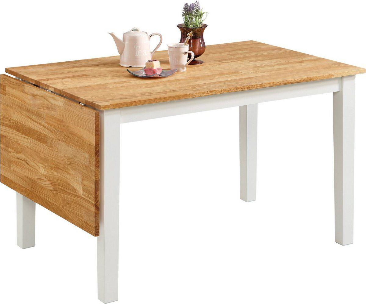 Esstisch Samba Breite 120 Cm Mit Ausklappbarer Tischplatte