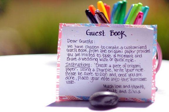 Diy Guest Book Alternatives Diy Wedding Weddings And Wedding