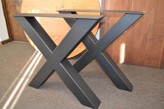 Xl Steel X Frame Table Legs Any Size Color In 2019 Tables And