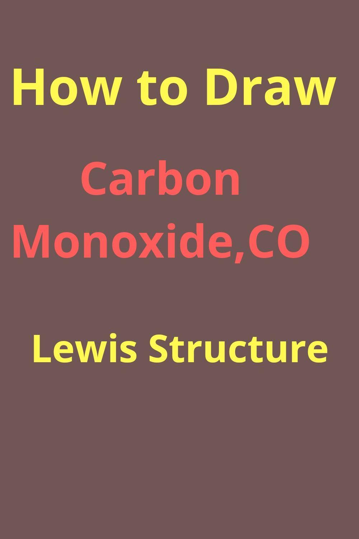 Co+ Lewis Structure : lewis, structure, Carbon, Monoxide, Lewis, Structure, Chemistry, Worksheets,, Lewis,