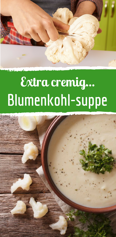 Photo of Light recipe for cauliflower cream soup