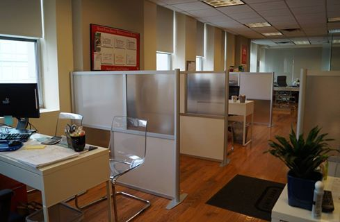 State Farm Insurance Office Partitions In Nyc Model Sw6051 2