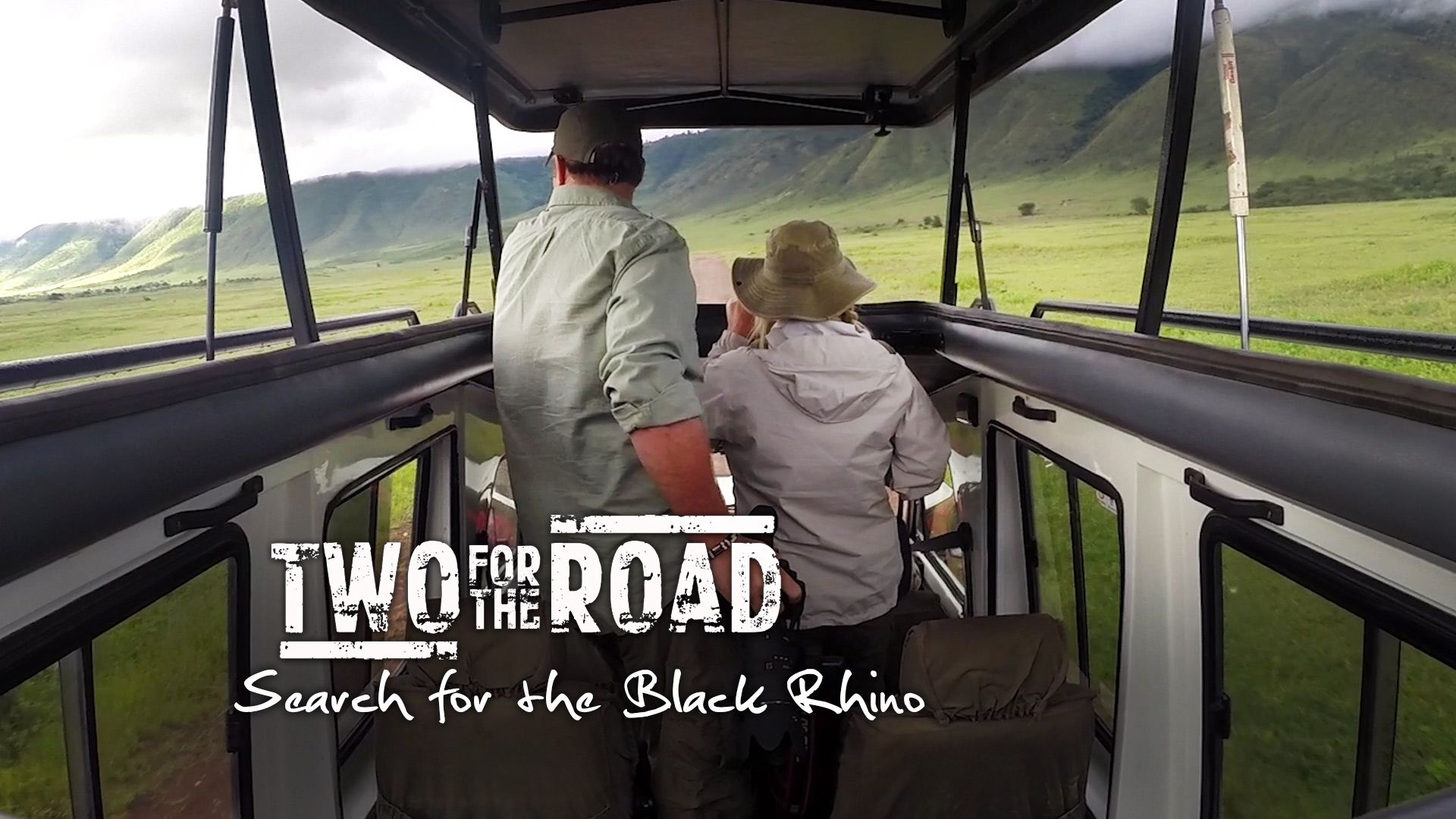 Video our search for the black rhino in ngorongoro crater