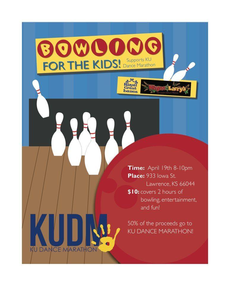 Ku Dance Marathon Bowling Night Fundraiser Dance Marathon
