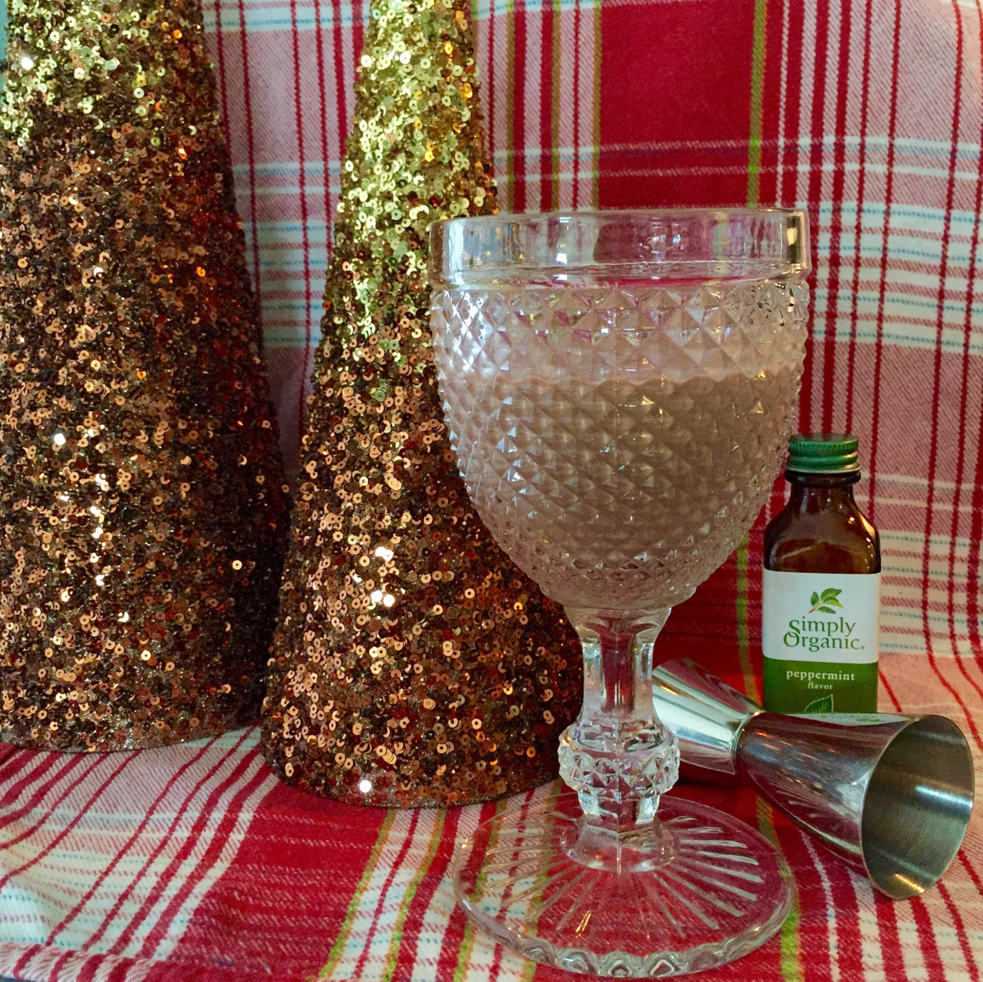 Garden Eats makes Emily von Euw's Chocolate Mylk with a twist - she made it into a peppermint cocoa and a bourbon spiked adult treat!