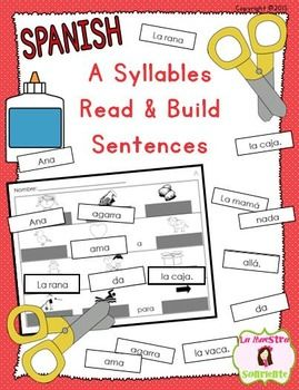 how to read syllables in spanish