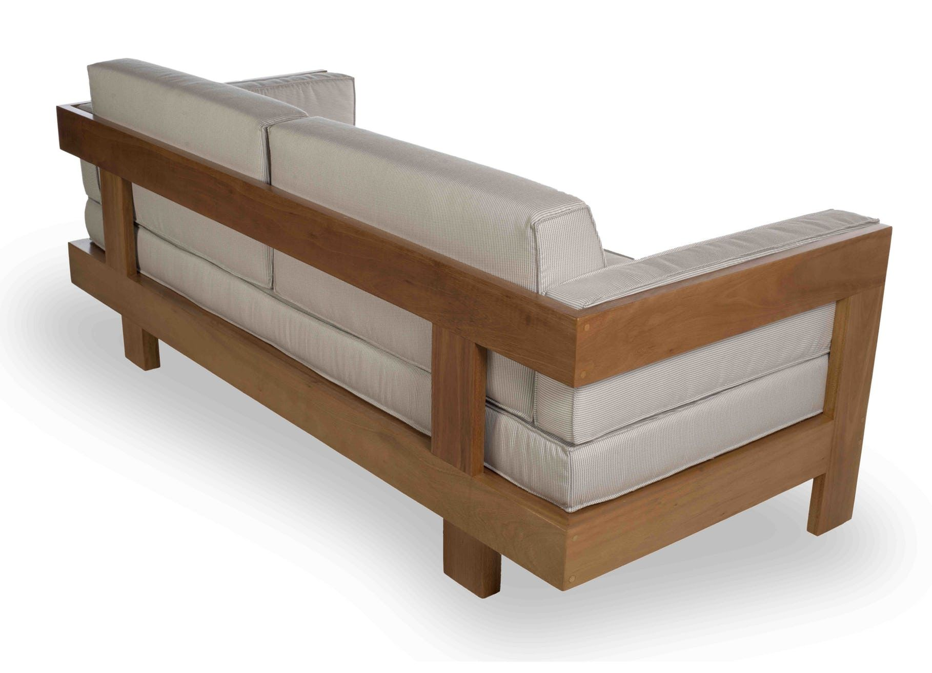 Moorea Living Sofa By Tidelli Now Available At Haute Living In 2020 Wooden Sofa Designs Wooden Sofa Set Designs Wooden Sofa