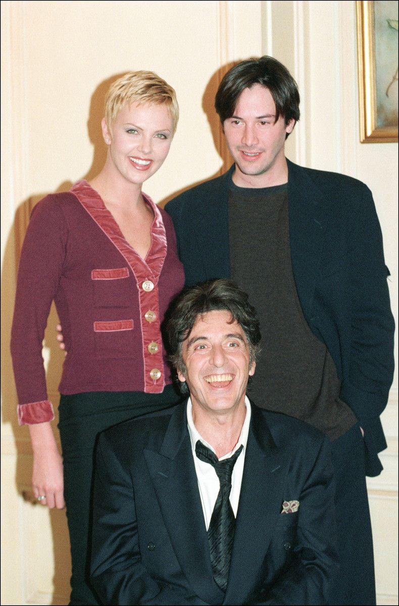 """Charlize Theron, Keanu Reeves and Al Pacino from """"Devil's ..."""