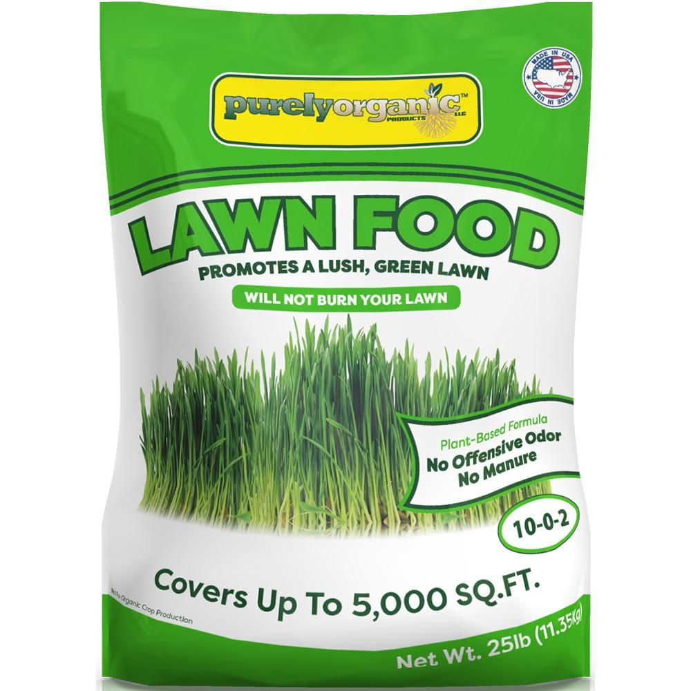 Purely Organic Products 25 lb. Lawn Food Fertilizer