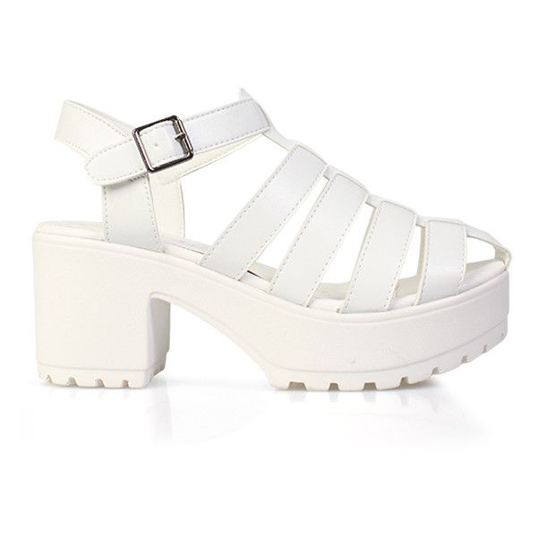 4fae2c58822848 Inniu Soda Sandal (65 AUD) ❤ liked on Polyvore featuring shoes ...