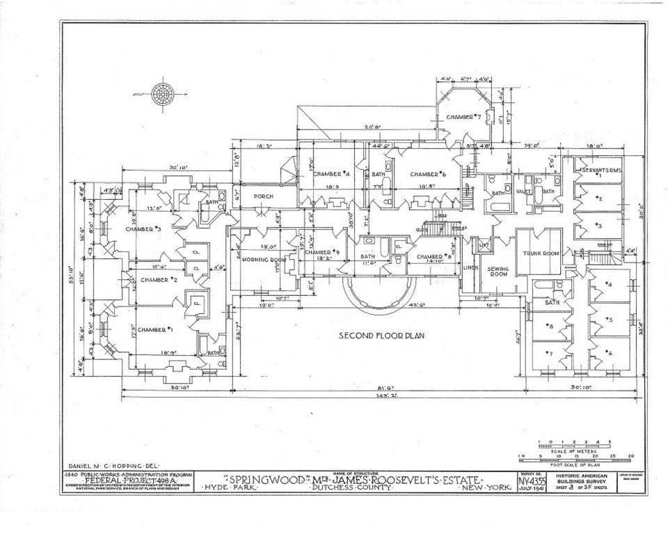 Springwood estate in hyde park new york second level for Hyde homes floor plans
