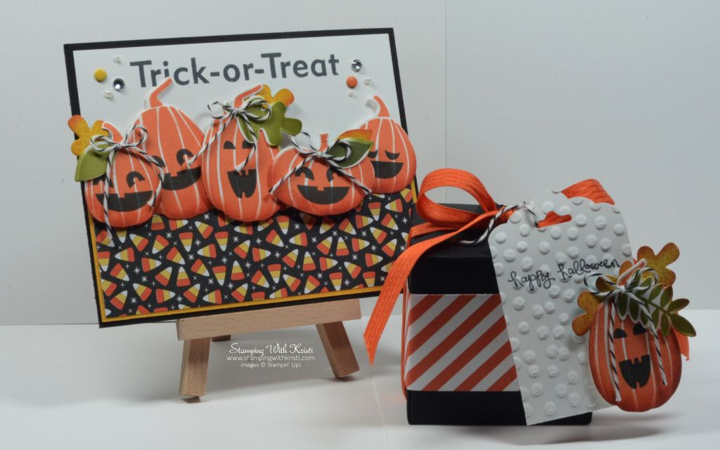 Stampin Up Fall Fest card by Kristi @ www.stampingwithkristi.com