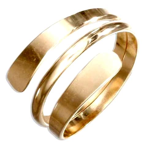 12 Karat Gold Wrap Around Ring Thumbrings In 2020 Thumb Rings Engagement Rings Opal Womens Engagement Rings