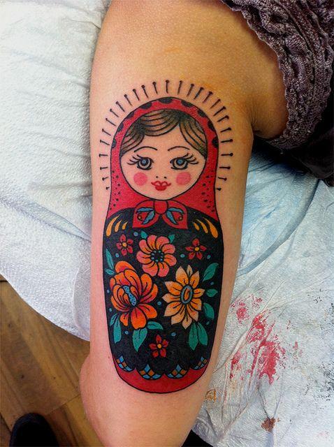 kevin betsch matryoshka doll doll tattoo and tattoo. Black Bedroom Furniture Sets. Home Design Ideas