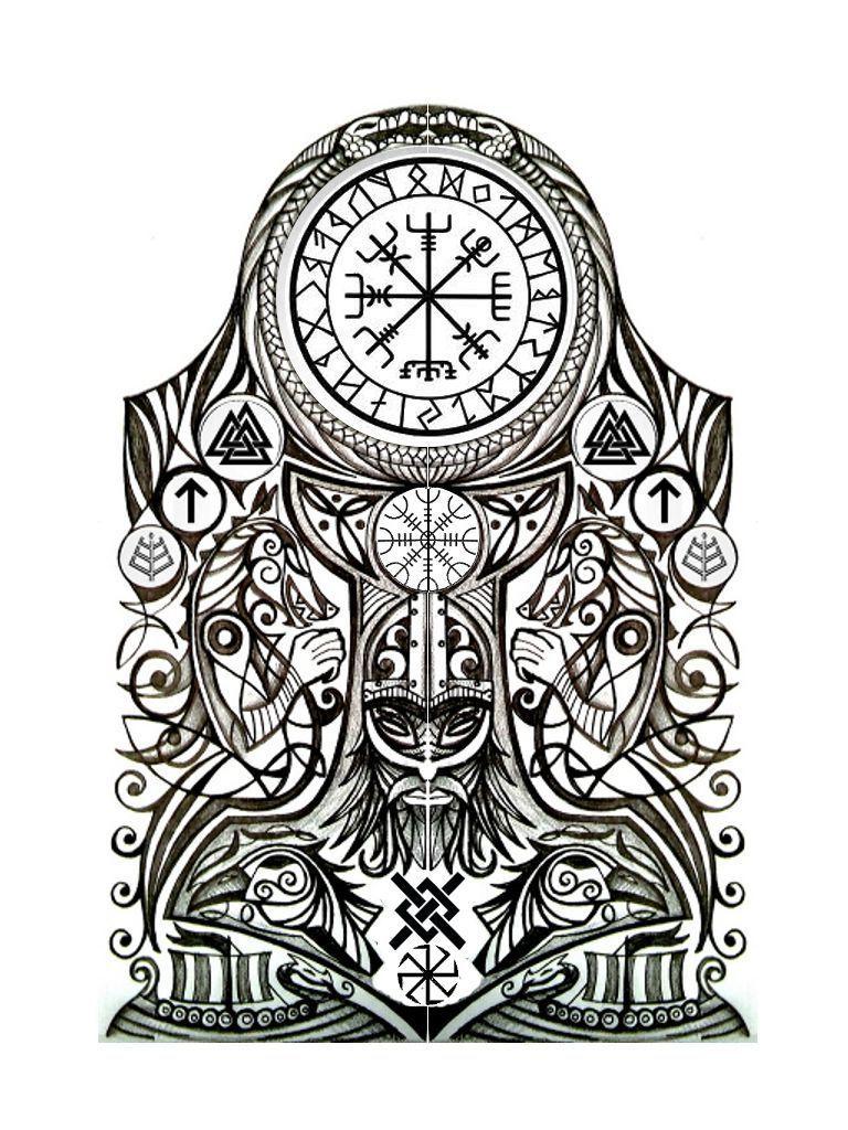 Mythologie symbole tattoo nordische Nordische mythologie