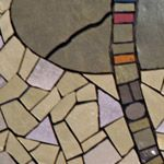 Pathfinder mosaic detail by Sonia King