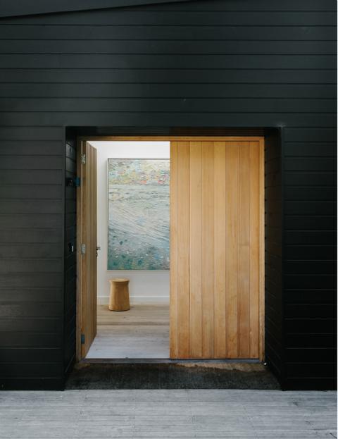 sommerhaus der designerin shareen joel from my blog warm minimalism pinterest haust ren. Black Bedroom Furniture Sets. Home Design Ideas