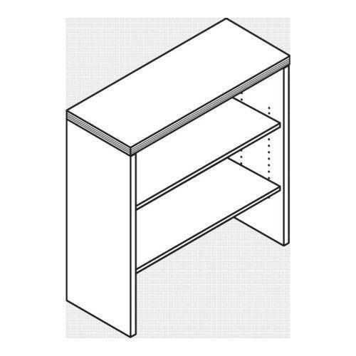 HON Valido Custom Bookcase Hutch
