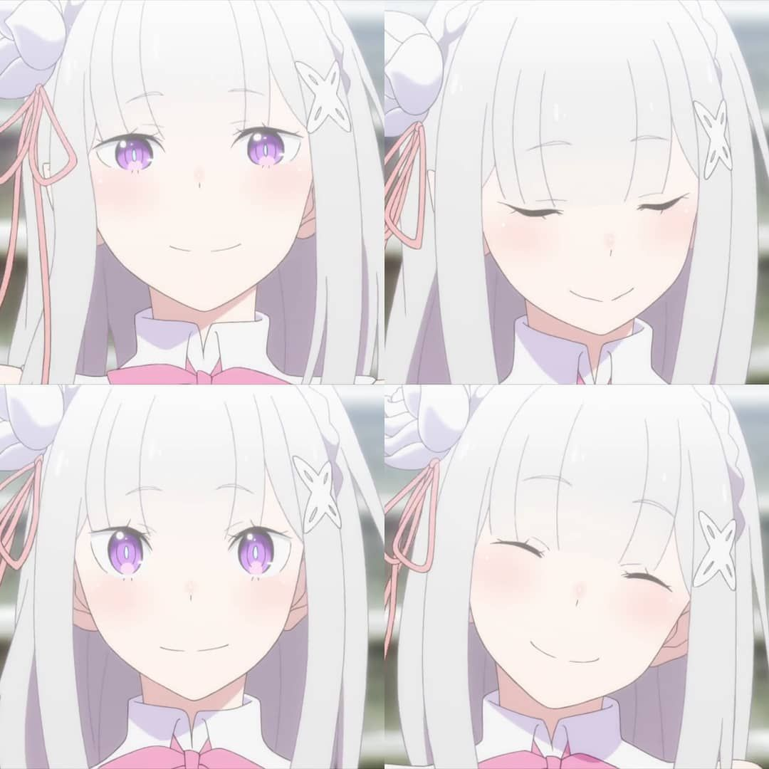 """Emilia   Rezero ♡ on Instagram: """"Since no Lia at the newest ep so, I bring you all my.fav Lia smile ♥ And Dona at the next slide! I will post about otto and ram too ♡"""""""
