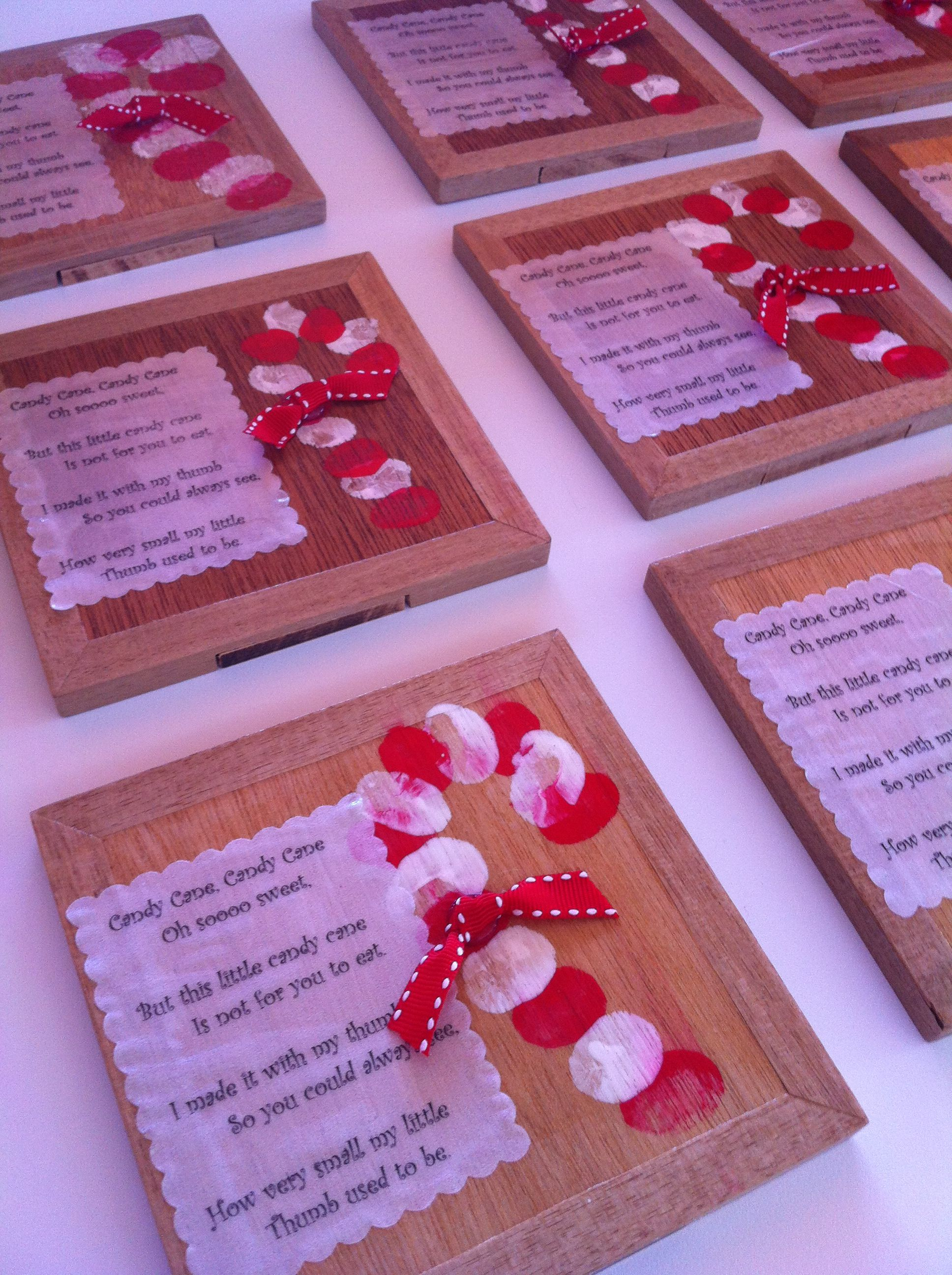 read the poem thumbprints make this special christmas