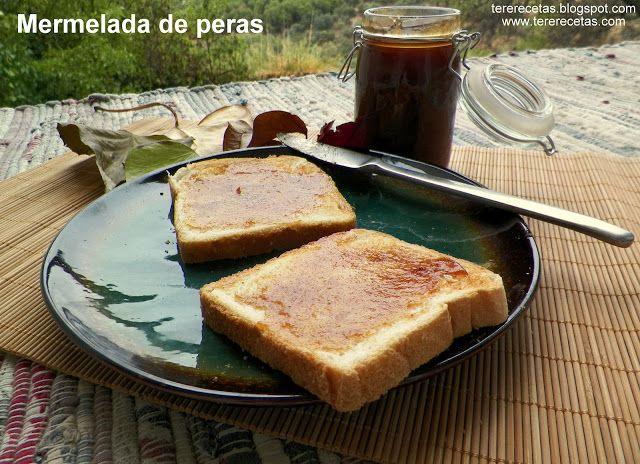 Mermelada de peras  http://tererecetas.blogspot.com