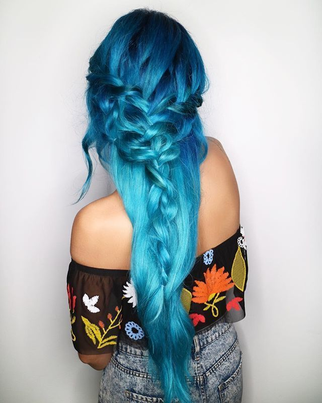 Blue Baby Gorgeous Color By Elissawolfe Using Blue Smoke At The