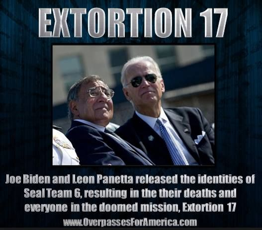 OBAMA, BIDEN IMPLICATED IN DEATHS OF SEAL TEAM *VIDEO* #o4a